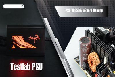 Đánh giá bộ nguồn VSPTECH esport gaming 650W công suất thực