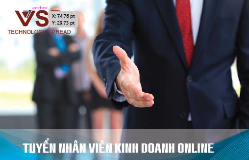 Tuyển dụng nhân viên kinh doanh online