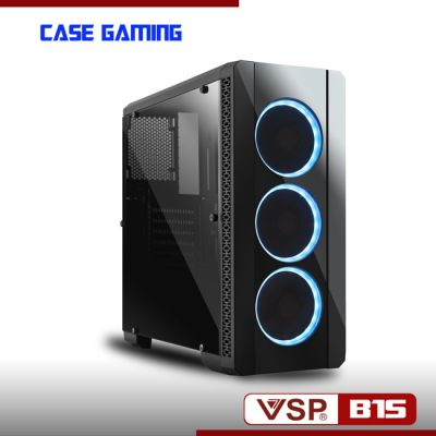 Vỏ Nguồn Máy Tính VSP B15 – Kính Cường Lực