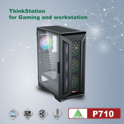 CASE VSPTECH THINKSTATION P710 FOR GAMING AND WORKSTATION