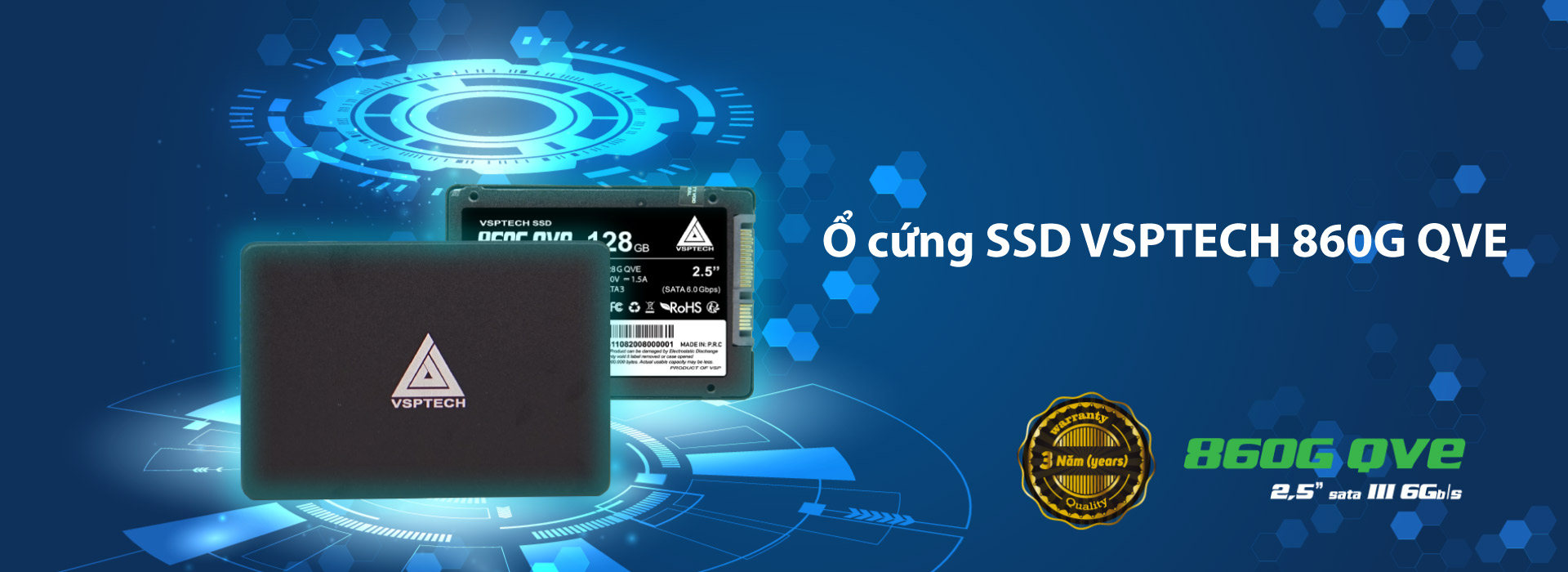 Ổ cứng SSD VSPTECH 860G QVE