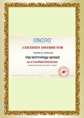 Chứng nhận VISION VSP phân phối SSD OSCCO