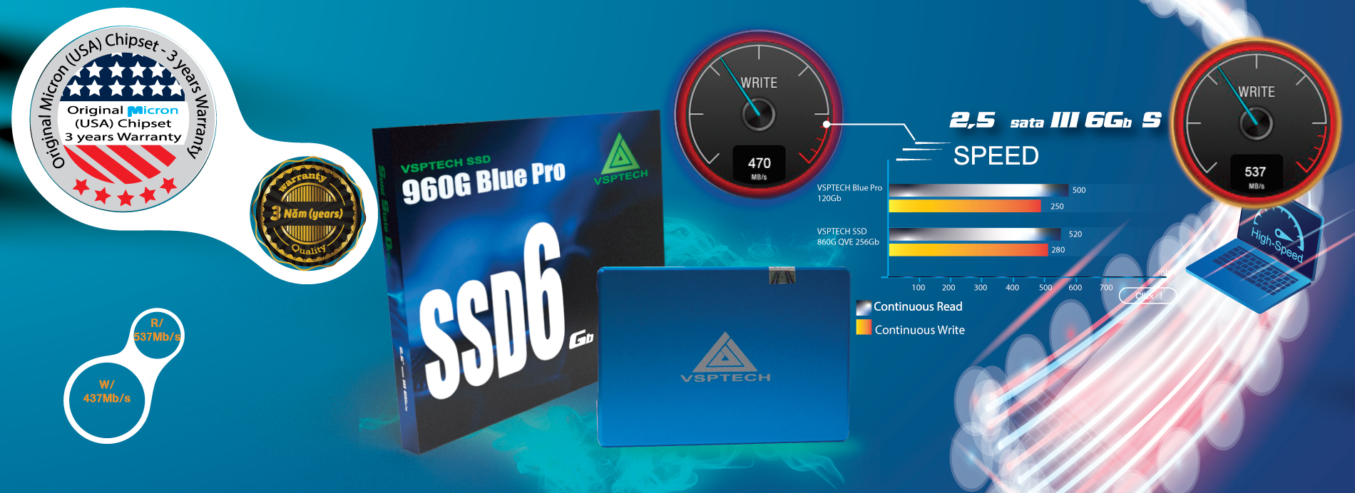 SSD VSPTECH